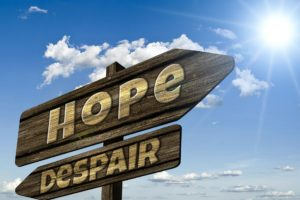 move from despair to hope